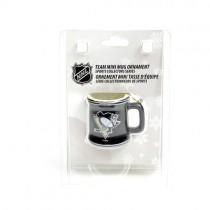 Pittsburgh Penguins Ornaments - Mini Mug Style Ornaments - 12 For $30.00