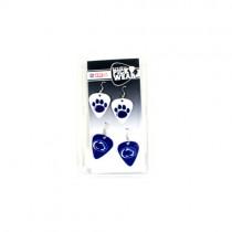 Penn State Nittany Lions - 2Pack Guitar Pick Earring Sets - $3.00 Per Set