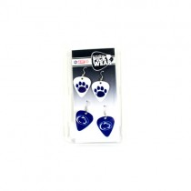 Penn State Nittany Lions - 2Pack Guitar Pick Earring Sets - 12 Sets For $30.00