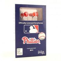 Philadelphia Phillies Headphones - IHIP EarBuds - 12 EarBuds For $54.00