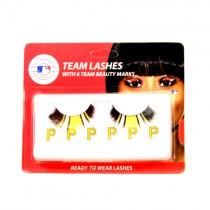 Special Buy - Pittsburgh Pirates Team Eyelash Sets - 12 Sets For $24.00