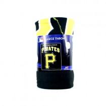 "Pittsburgh Pirates Blankets - 50""x60"" Fleece - Lightning Style - $9.50 Each"