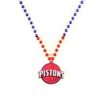 "Detroit Pistons Beads - 22"" Team Beads - $3.50 Each"