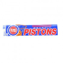 """Detroit Pistons Bumper Stickers - 3""""x12"""" Win Style - 12 For $18.00"""
