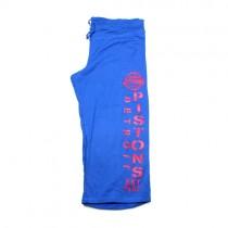 Detroit Pistons Pants - Blue Active Style Capris - Assorted Sizes - 12 For $48.00