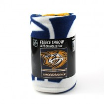 "Nashville Predators Blankets - 48""x60"" Fleece Fade Away Style - $9.50 Each"