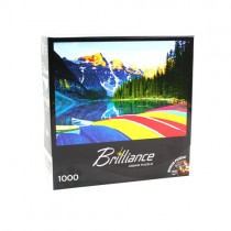 Puzzle - 1000pc Brilliance Jigsaw Puzzle - 12 For $30.00