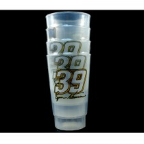 Ryan Newman - #39 NASCAR - 4Pack 16OZ Tumbler Set - 2 Sets For $10.00