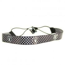 Raiders - Polka Dot Headbands - 12 For $30.00