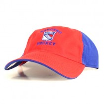 New York Rangers Caps - Red Face With Blue Back - 2Tone Caps - 2 Caps For $18.00