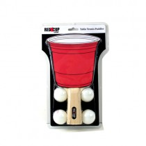 Wholesale - Red Cup Living - Table Tennis Paddles With 4 Pong Balls / 2Paddles - 2 Player Set - 12 Sets For $30.00