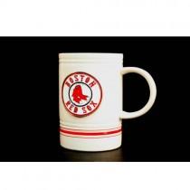 Boston Red Sox Mugs - 16OZ White Metal Tag Mugs - $6.00 Each