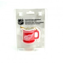 Detroit Red Wings Ornaments - Mini Mug Style Ornament - 12 For $30.00