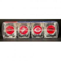 Cincinnati Reds Shotglasses - 4Pack GameTime Set - $10.00 Per Set