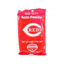 Cincinnati Reds Ponchos - COOP Style - Hooded Gameday Ponchos - 100 For $250.00