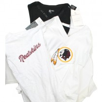 Washington Redskins Shirts - Assorted Couture Style Shirts - Assorted Styles And Sizes - 12 For $60.00