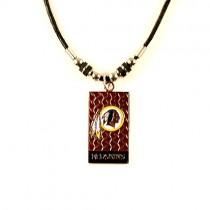 Washington Redskins Necklaces - Diamond Plate Style - 12 For $39.00