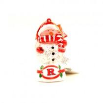 Rutgers Ornaments - Snowman Scarf Dude - 12 For $24.00