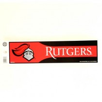 Rutgers University - Series12 Bumper Stickers - 12 For $12.00