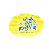 "South Dakota State University - Jack Rabbits - 5"" Swirl Wordmark Style - 12 For $18.00"