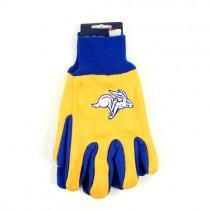 South Dakota State Gloves - The Jackrabbits - Black Palm Series Grip Gloves - 12 Pair For $36.00