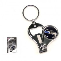 Overstock - Seattle Seahawks Keychains - 3in1 Tool - 12 For $24.00