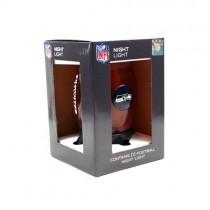 "Seattle Seahawks Night Light - 8"" Table Top Football Style Night Light - 12 For $36.00"