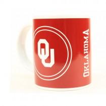 Oklahoma Sooners Mugs - 11OZ White Handled Mugs - 6 For $24.00