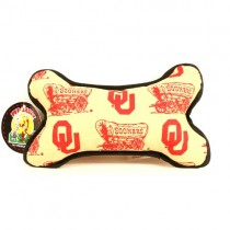Oklahoma Sooners Dog Toys - The Squeaker BONE - $5.00 Each