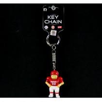 Oklahoma Sooners Keychains - Football Man Style Lil Bratz Keychains - 12 For $18.00