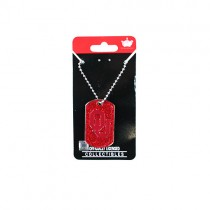 Oklahoma Sooners Necklaces - Glitter Pendants - 12 For $30.00