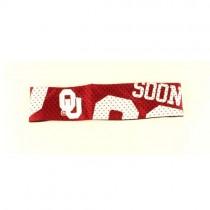 Oklahoma Sooners Headband - Jersey Style Headbands - $3.50 Each