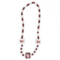 Oklahoma Sooners Necklaces - Wood England Style - 12 For $30.00