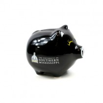 "Southern Mississippi Banks - 5"" Ceramic Style Piggy Bank - 2 For $8.00"