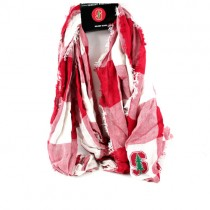 Stanford - Buffalo Check Style Infinity Scarves - 12 For $60.00