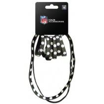 Pittsburgh Steelers Merchandise - 8PC Pony/Headband Set - 12 Sets For $30.00