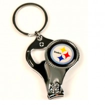 Pittsburgh Steelers Keychains - 3in1 -  NFL Tools - 12 For $24.00