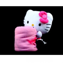 "St. Louis Cardinals Blankets - Hello Kitty 15"" Plush Hugger With Blanket - $10.00"