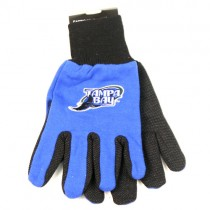 Tampa Bay Rays Gloves - 2Tone Blue/Black - MLB Wholesale Gloves - $3.50 Per Pair