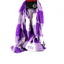 Texas Christian University - Buffalo Check Style Infinity Scarves - 12 For $60.00