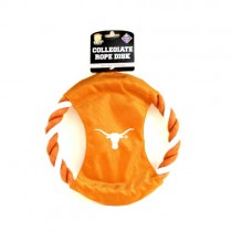 Texas Longhorns Dog Toys - The ROPE Toy - 12 For $54.00