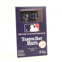 Tampa Bay Rays Headphones - IHIP Earbuds - 12 EarBuds For $54.00