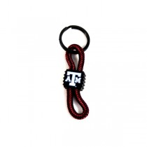 Texas A&M Keychains - ROPE Style Keychains - 12 For $15.00