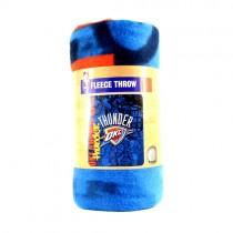 "Oklahoma City Thunder Blankets - 50""x60"" Fleece - Graffiti Style - $9.50 Each"
