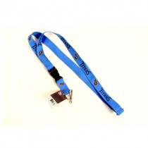 Tennessee Titans Lanyards (Pattern May Be Different Than Pictured) - Light Blue With Neck Release - $2.50 Each