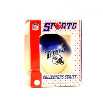 Overstock - NFL Christmas Ornaments -Tennessee Titans - Frosted Ball Ornament - 12 For $24.00