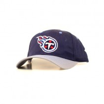 NFL Caps - Tennessee Titans Caps - Navy Blue With Gray Bill Classic Caps - $7.50 Each