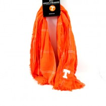 Tennessee Volunteers Scarves - Grid Iron Infinity Scarves - 12 For $60.00