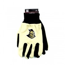 UCF Golden Knights Gloves - The BLACK PALM Series - 12 Pair For $36.00
