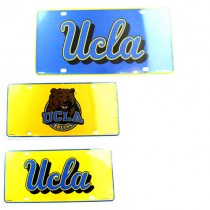 UCLA License Plates - Metal - 12 For $30.00 (Assorted, May Not Be As Pictured)